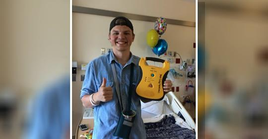 Donated AED helps save Camp Copneconic counselor in cardiac arrest
