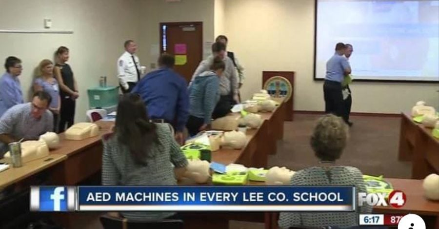 Defibrillators being added to all Lee County schools