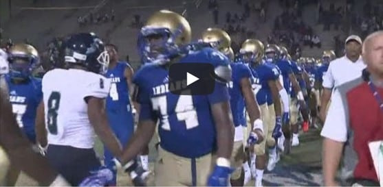 When a Cedar Grove player collapsed on the sideline, McEachern trainers saved his life
