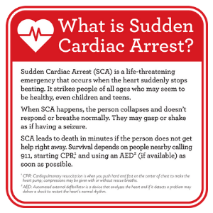 Multiple Organizations Unite for Sudden Cardiac Arrest Awareness Month, Urging the Public to 'Call-Push-Shock'