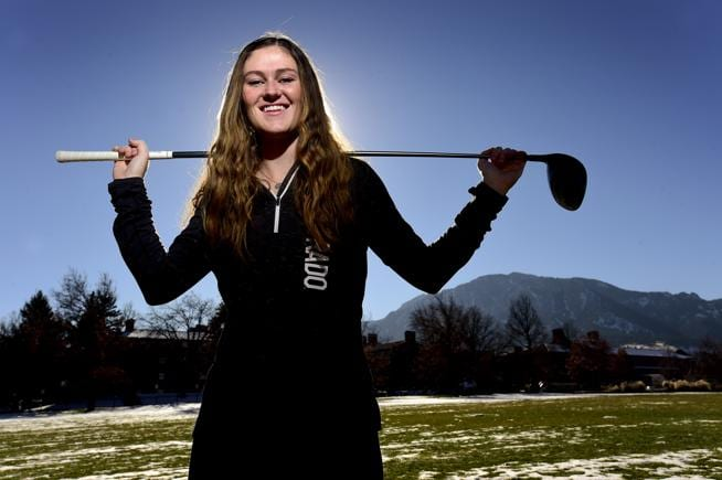 CU Boulder golfer grateful routine physical revealed heart issue