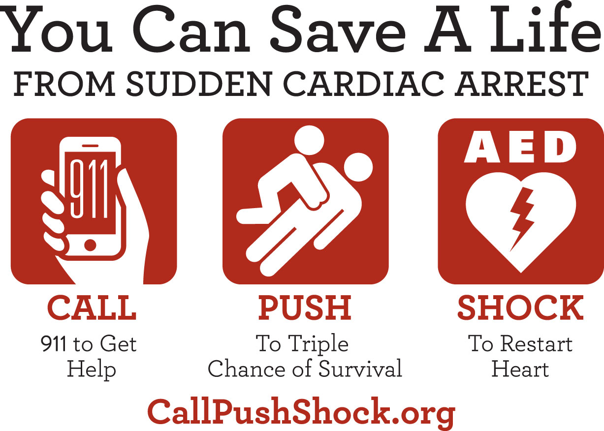 Call Push Shock Graphic REVISED - Cardiac Chain of Survival