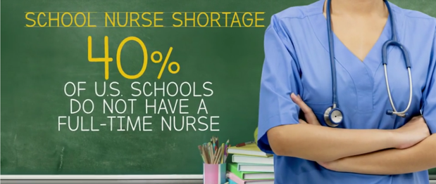 "Nationwide shortage of school nurses called a ""crisis"" that may be putting kids' lives at risk"