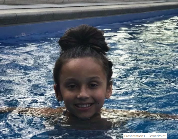 My little girl, 10, died from excitement halfway down a 270ft water slide