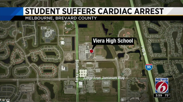 Viera lacrosse player fighting for his life after cardiac arrest