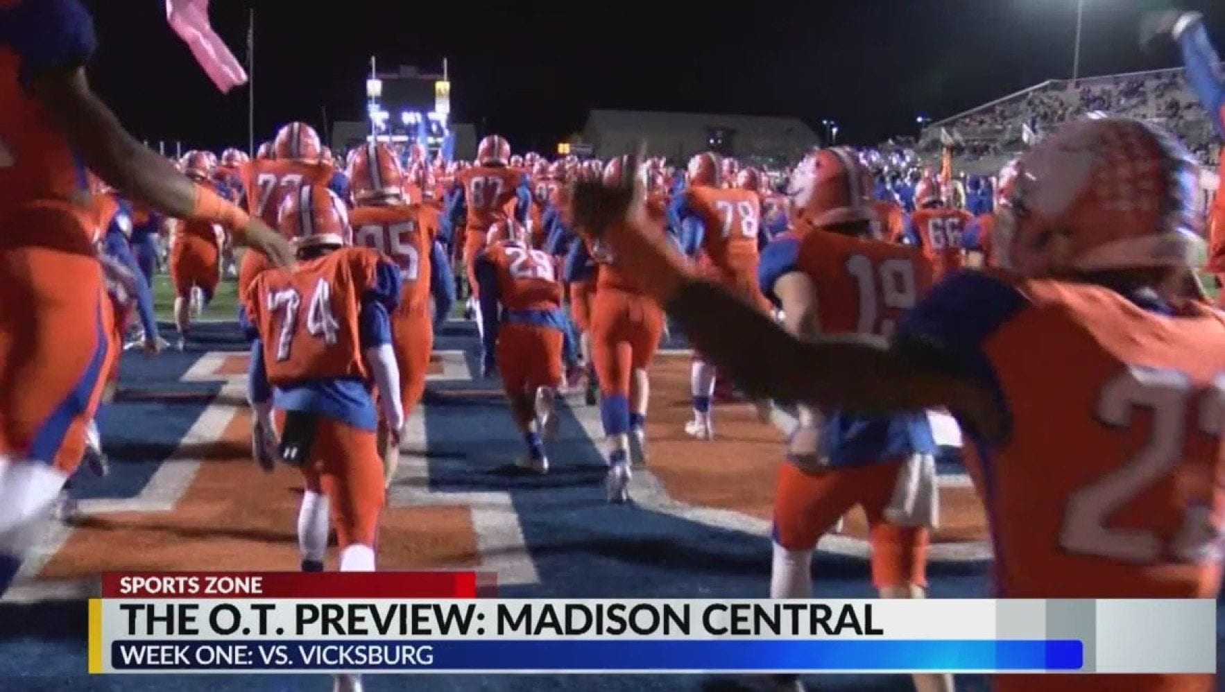 Madison Central football player collapses at practice