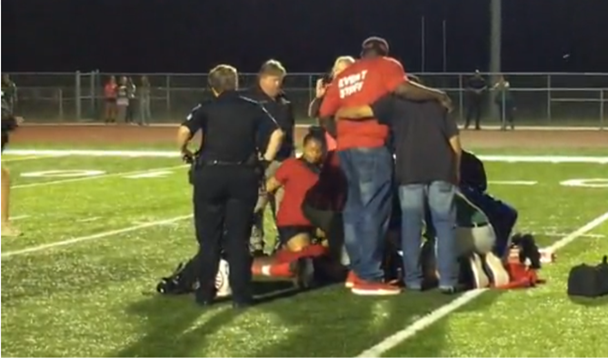 Stricken Trotwood-Madison football player released from hospital