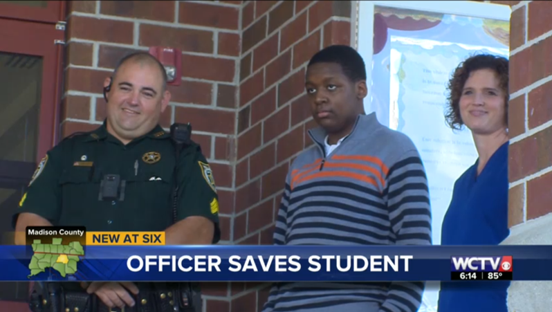 Miracle in Madison County: Student revived by SRO and school nurse