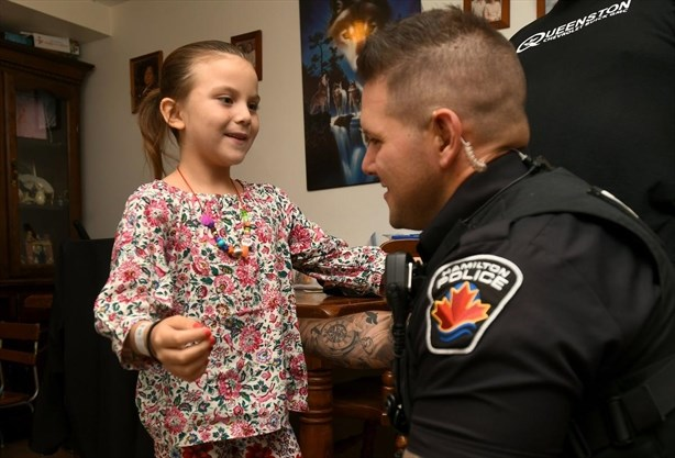 Hamilton constable's quick thinking saves seven-year-old girl suffering cardiac arrest