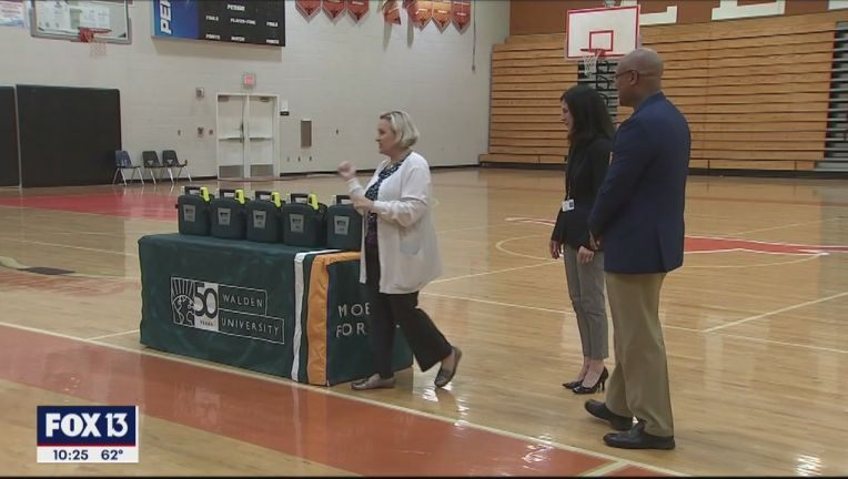 Nurse, student-athlete whose life she saved reunite to educate others on CPR