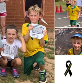 Rockwell Elementary students mourning the loss of 3rd grade classmate
