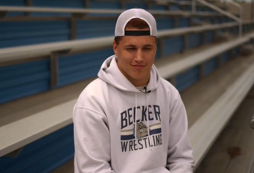 Becker wrestler who collapsed during state tournament gets treatment for heart condition