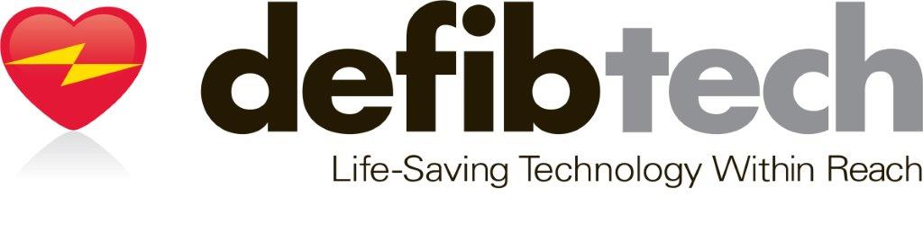 defibtech logo with tagline - Homepage