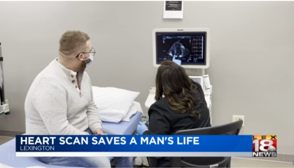Heart Scan Saves Mans Life - News