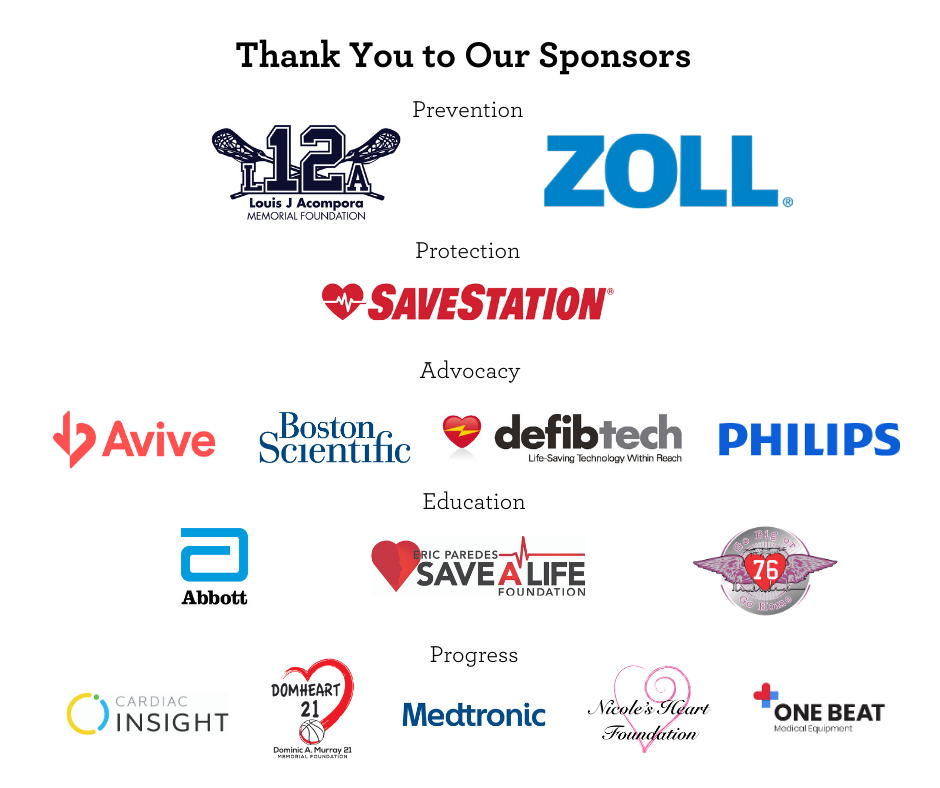 Thank You to Our Sponsors - Annual Heart to Heart
